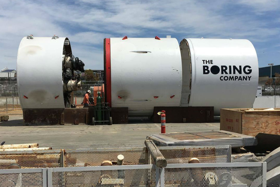 Elon Musk's Hawthorne-based The Boring Co. raises $113 million