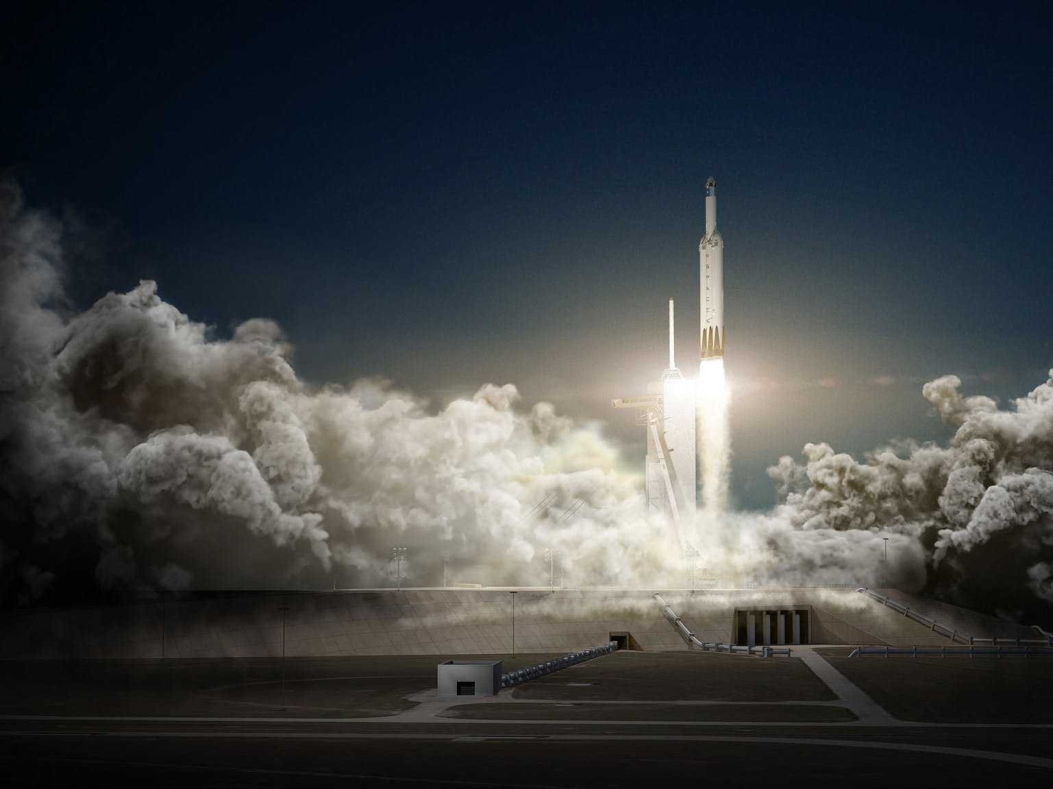 Elon Musk's Big Falcon Rocket Just Got a New Name: Starship