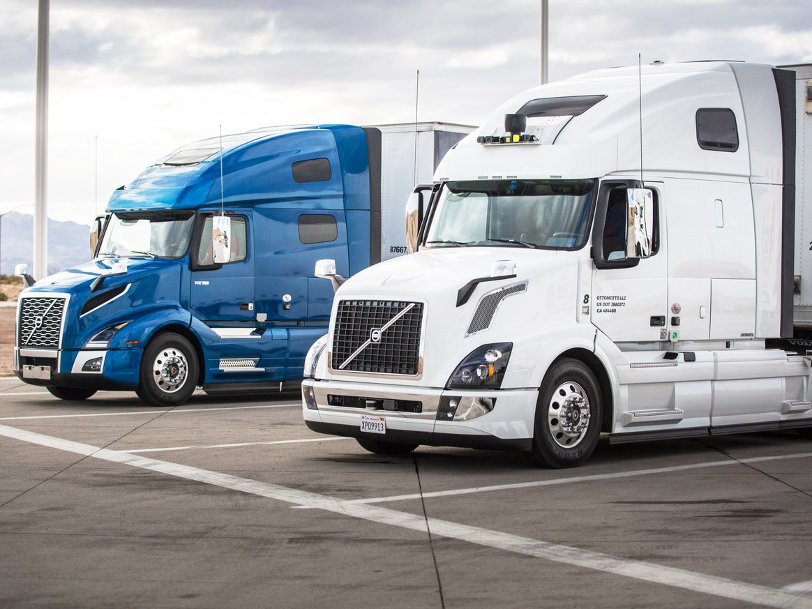 Uber self-driving trucks taking shipments in Arizona