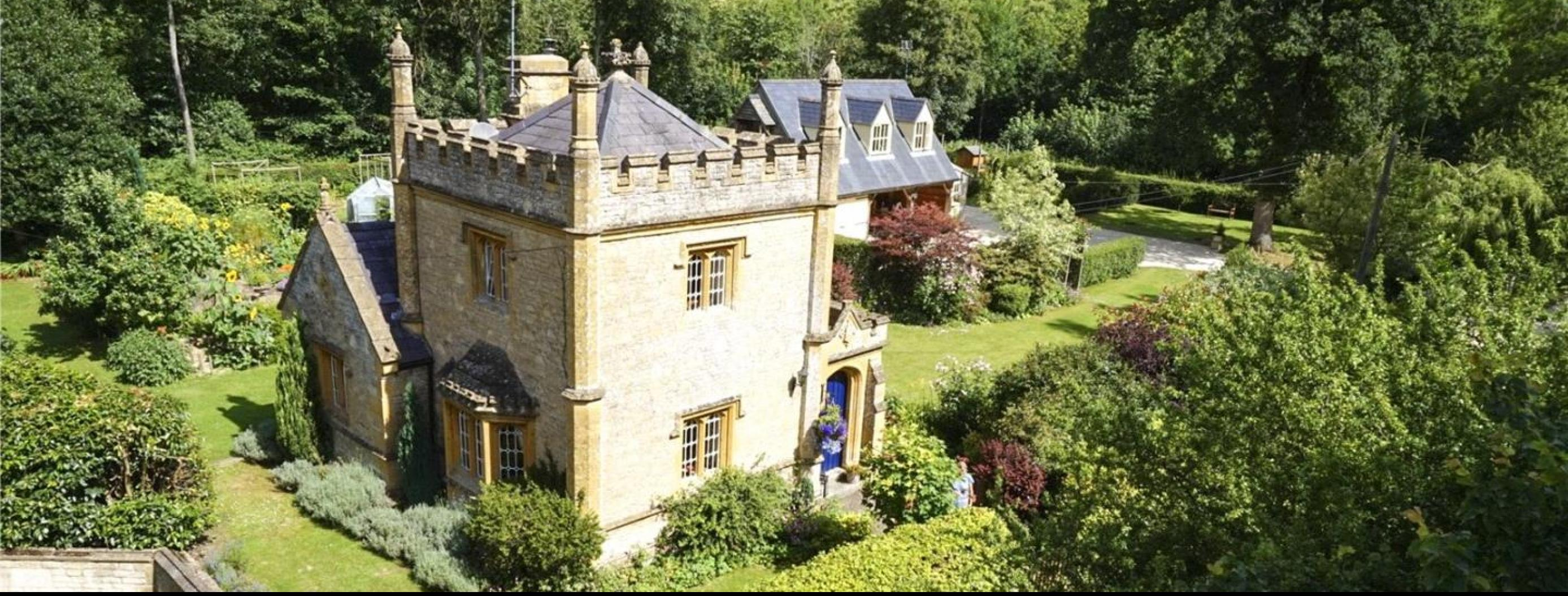 Forget Tiny Houses, Buy this Tiny Castle in the UK for Only £550,000!