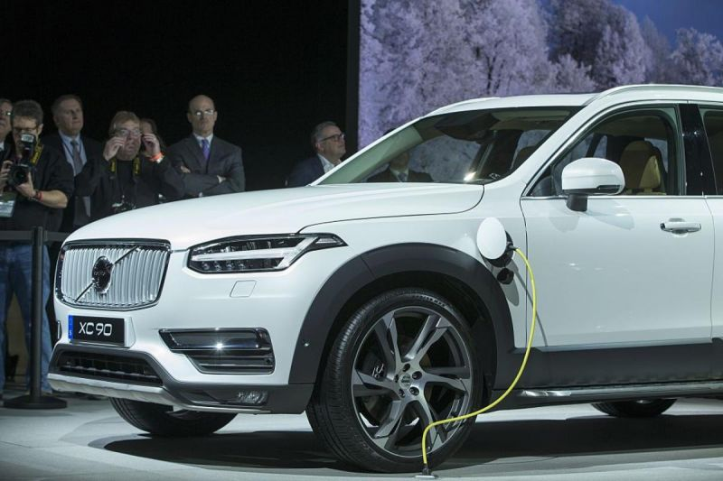 Volvo Will No Longer Make Gas-Only Cars By 2019