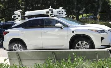 Check Out Apple's Self-Driving Car Sensor at Work