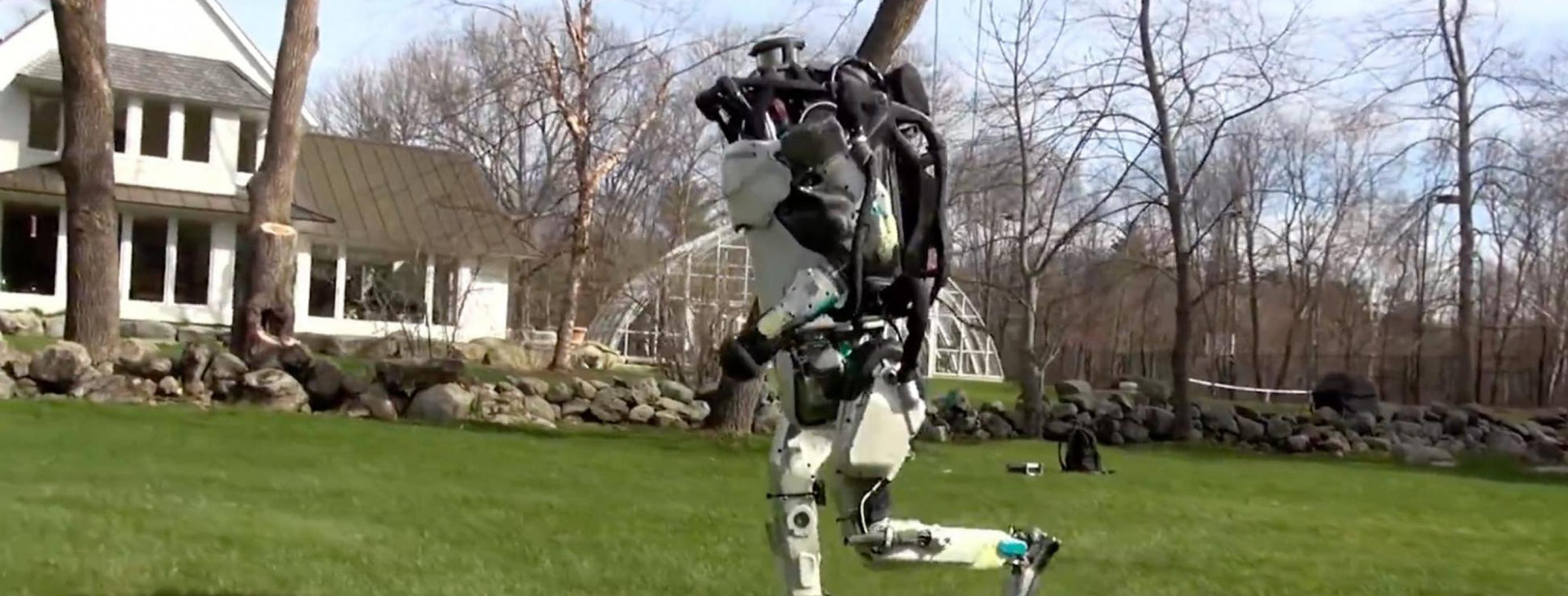 Boston Dynamics' Atlas Robot Can Now Do Parkour