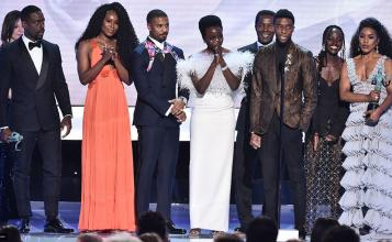 'Black Panther' Wins for Outstanding Performance at SAG Awards 2019
