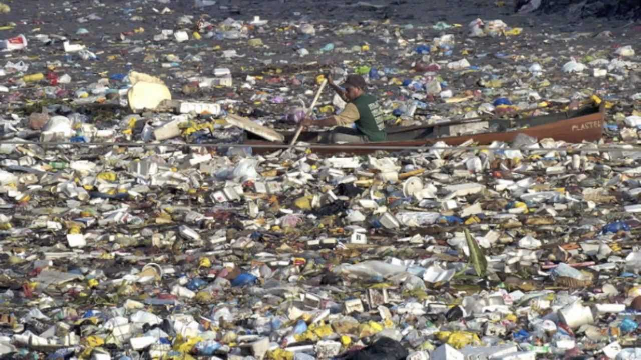Garbage is literally clogging our oceans.