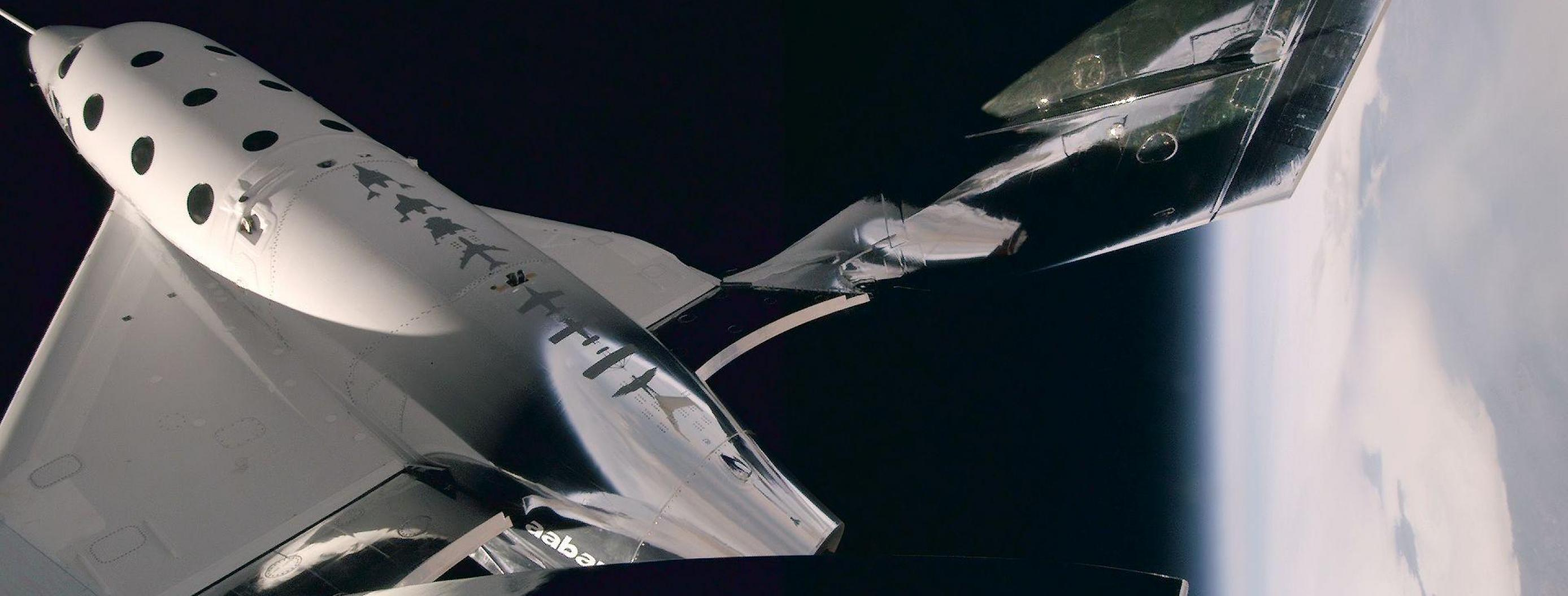 Virgin Galactic Plane Reached New Heights in Historic Test Flight