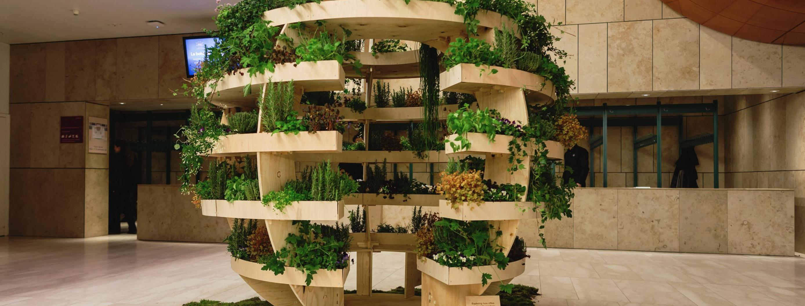 IKEA Releases Free Plans for a Sustainable Spherical Garden