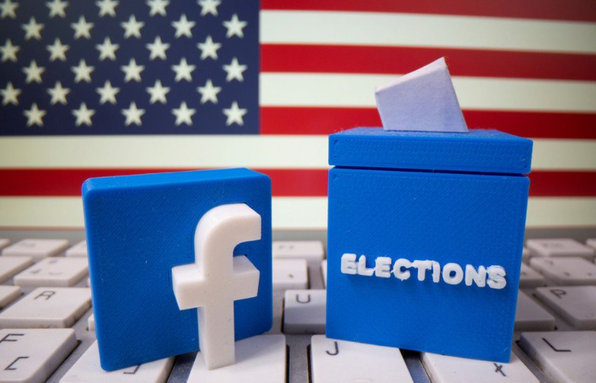 The social media giant has so far rejected over 2.2 million political ads. Source: Washington Post