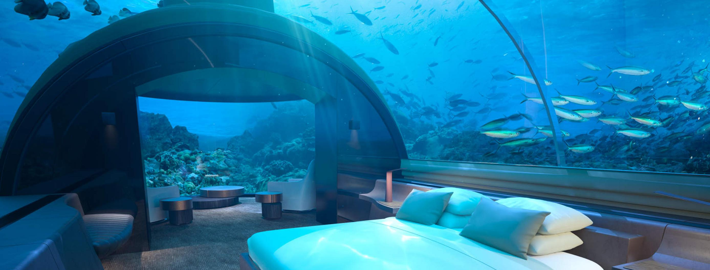 World's First Underwater Hotel Villa to Open in the Maldives