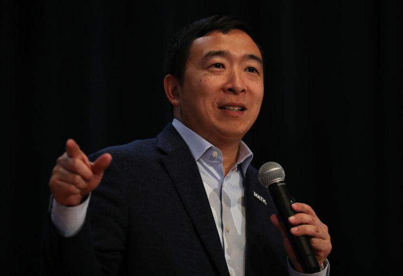 Yang aims to alter and maybe even improve data property rights legislation. Source: Yahoo Finance