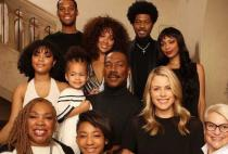 Eddie Murphy Poses with All 10 of His Children