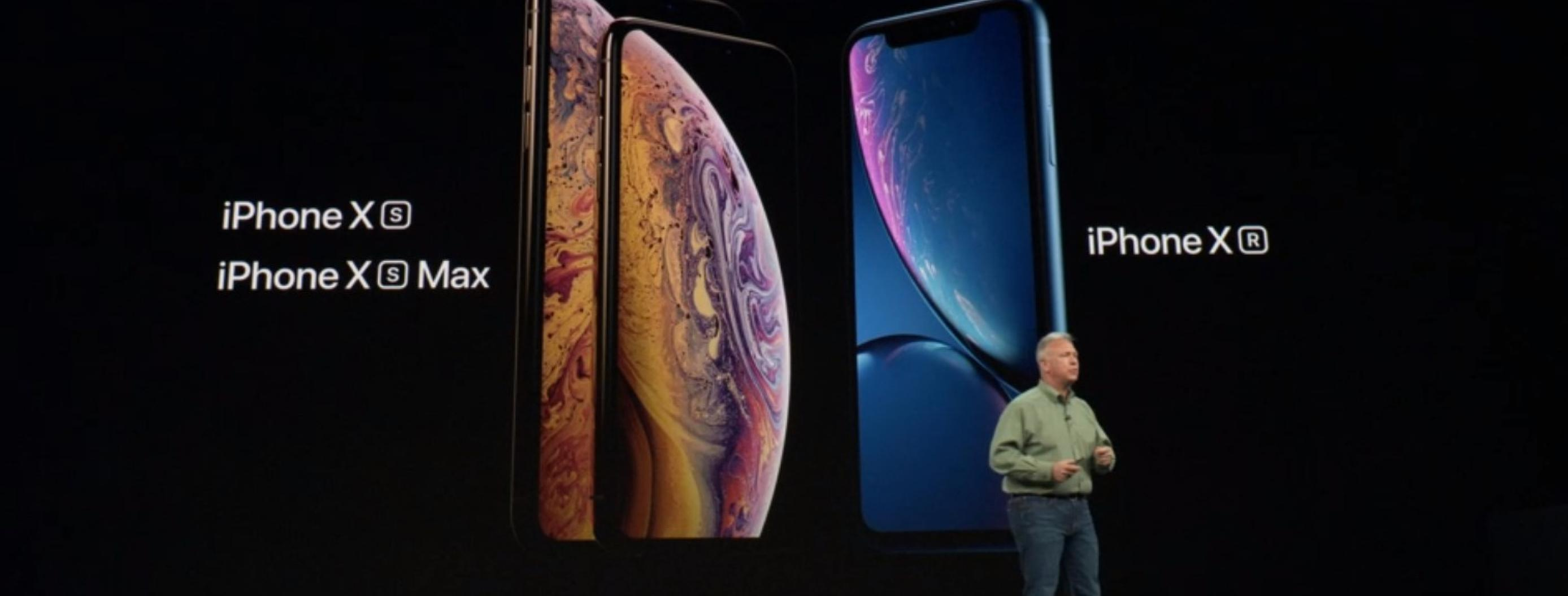 Apple Announces iPhone XS and 6.5-inch XS Max