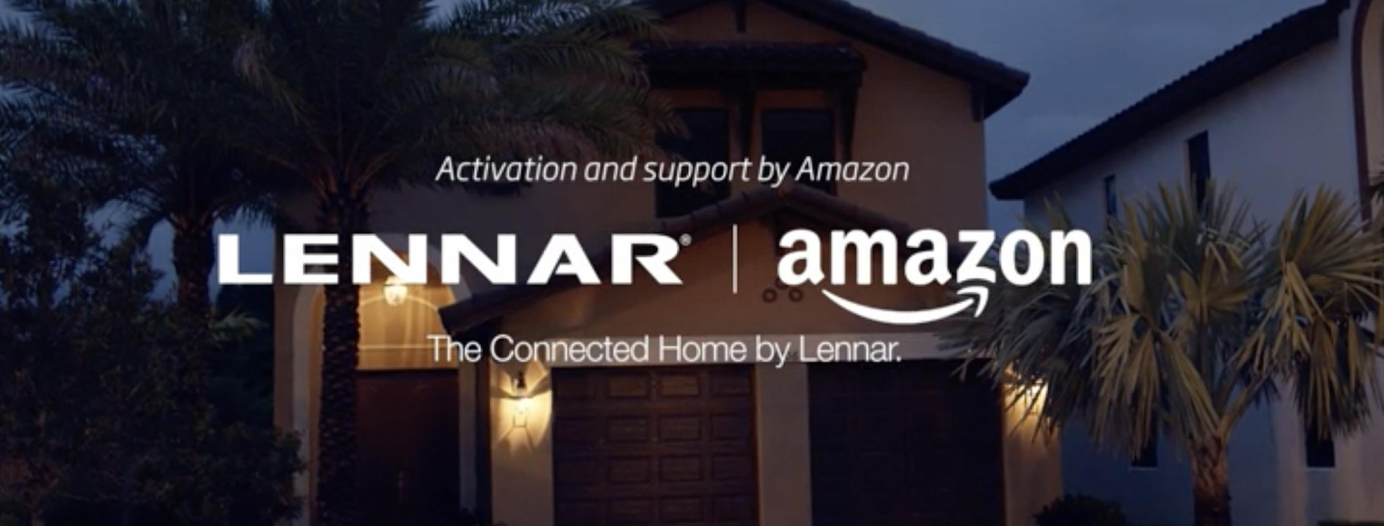 Amazon Joins Forces with Homebuilder Lennar to Use Alexa for Smart Homes