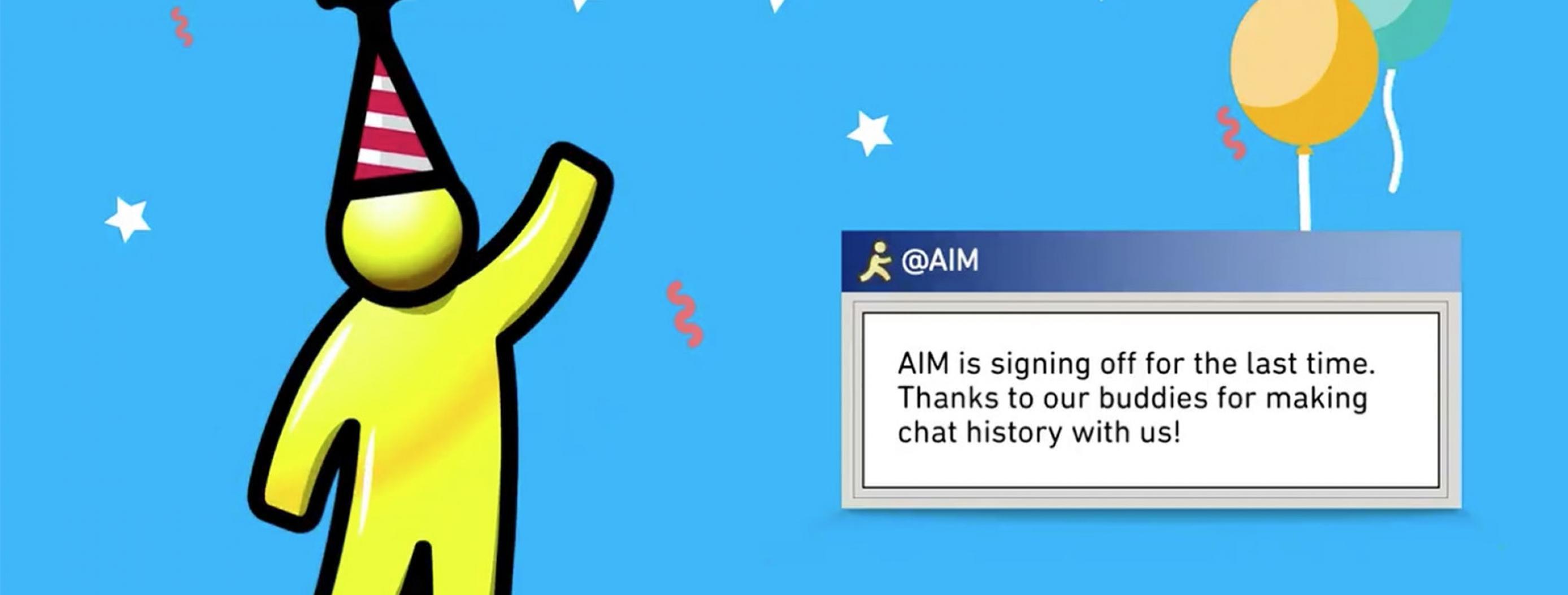 End of an Era: AOL Instant Messenger Officially Shutting Down in December