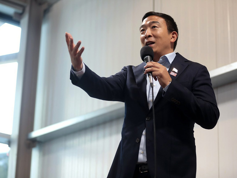 Big Tech Companies Should Pay for Your Data, Says Andrew Yang