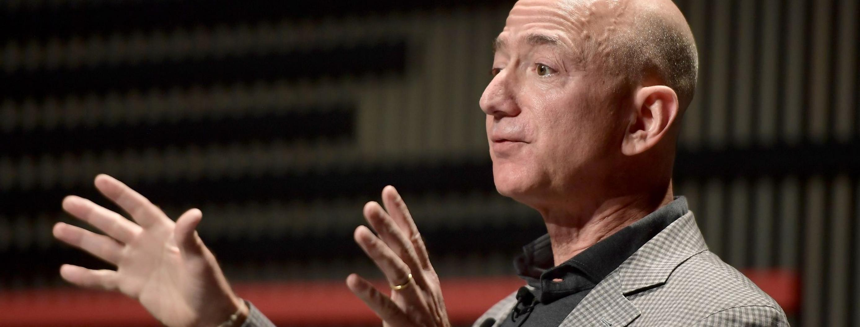 Jeff Bezos Defends Spending Billions on His Space Travel Venture
