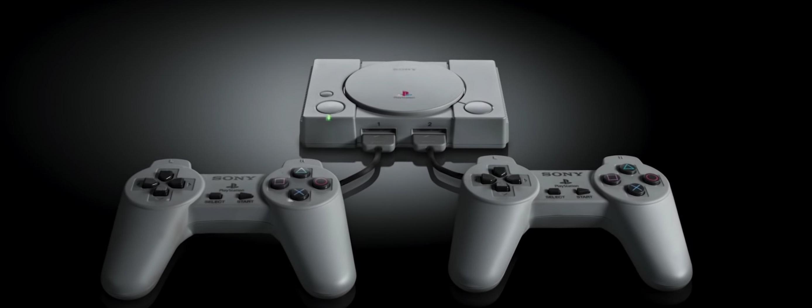 Sony Announces $100 PlayStation Classic