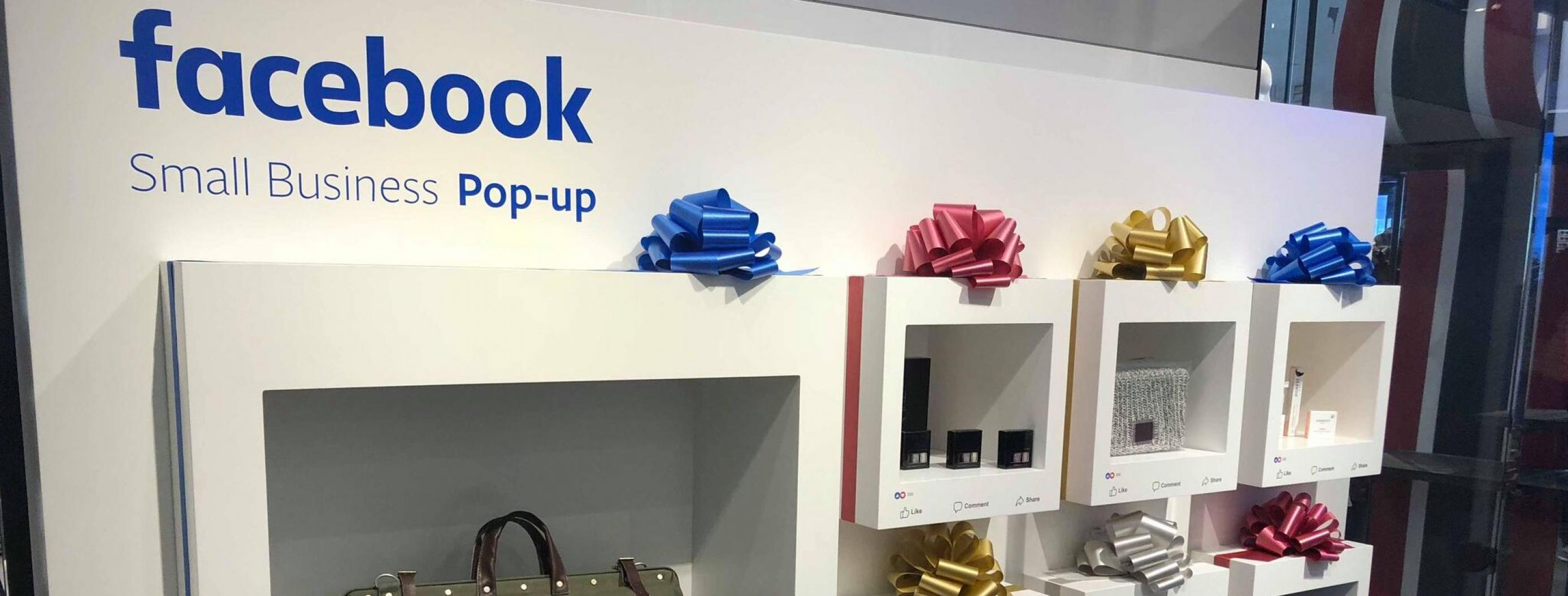 Facebook Partners with Macy's to Create Pop-Up Shops