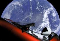 """Starman"" and the Tesla Roadster Have Now Cruised Beyond the Orbit of Mars"