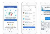 Facebook Enters the Home Services Market