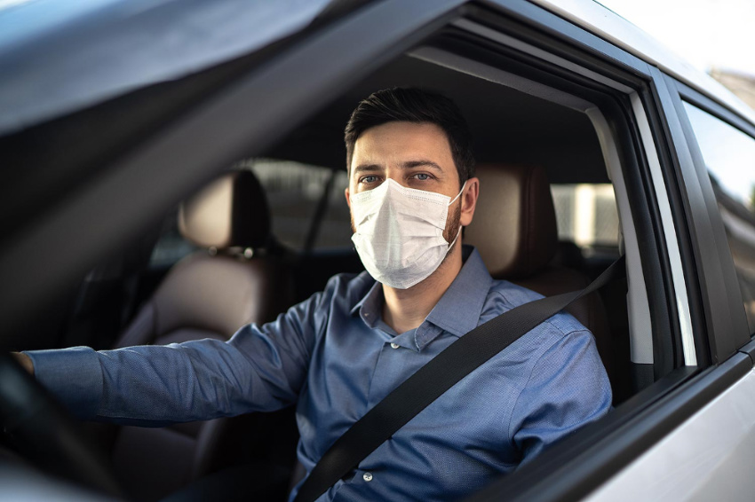 Both drivers and riders will be required to use face masks. Source: People