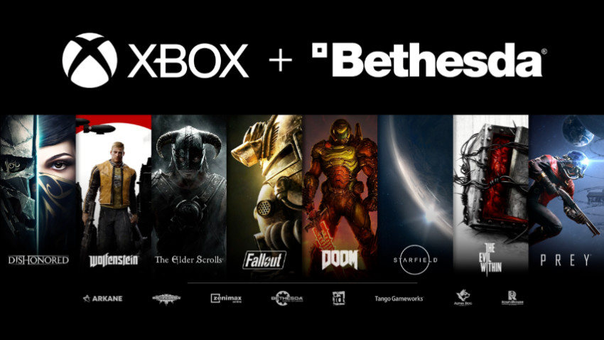 Microsoft acquired Bethesda's parent company and all of it's studios. Source: Gamespot