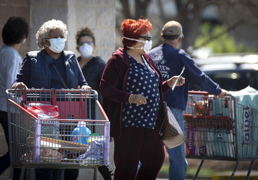 Grocery chains are getting sued for trying to force their shoppers into wearing masks. Source: Frederick News Post