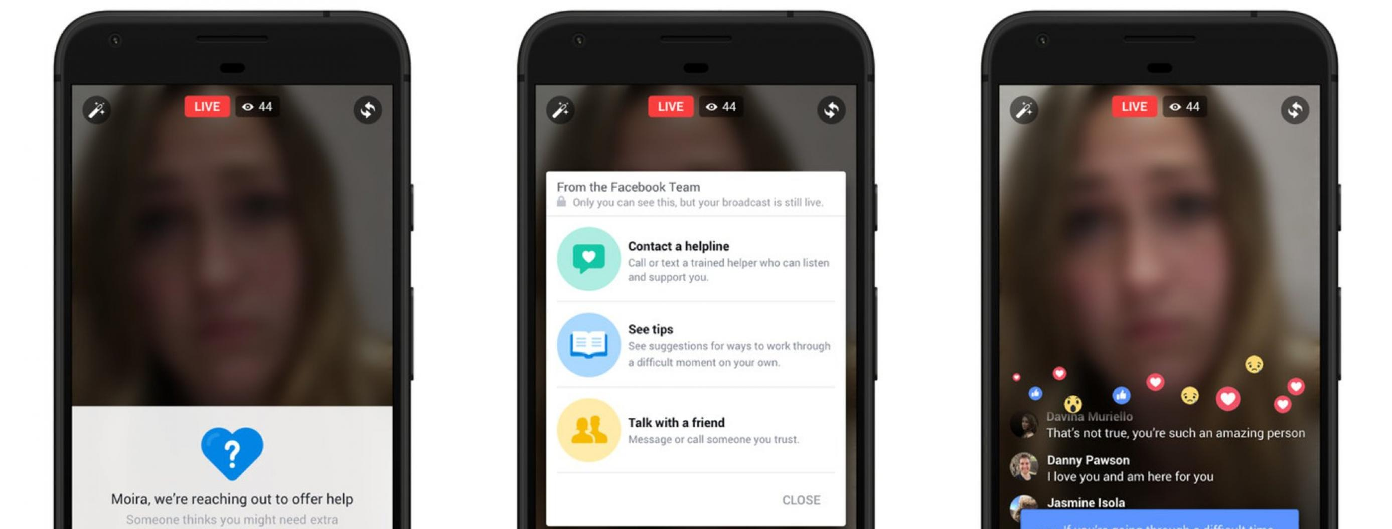 Facebook Rolls Out AI to Help Identify Suicidal Tendencies