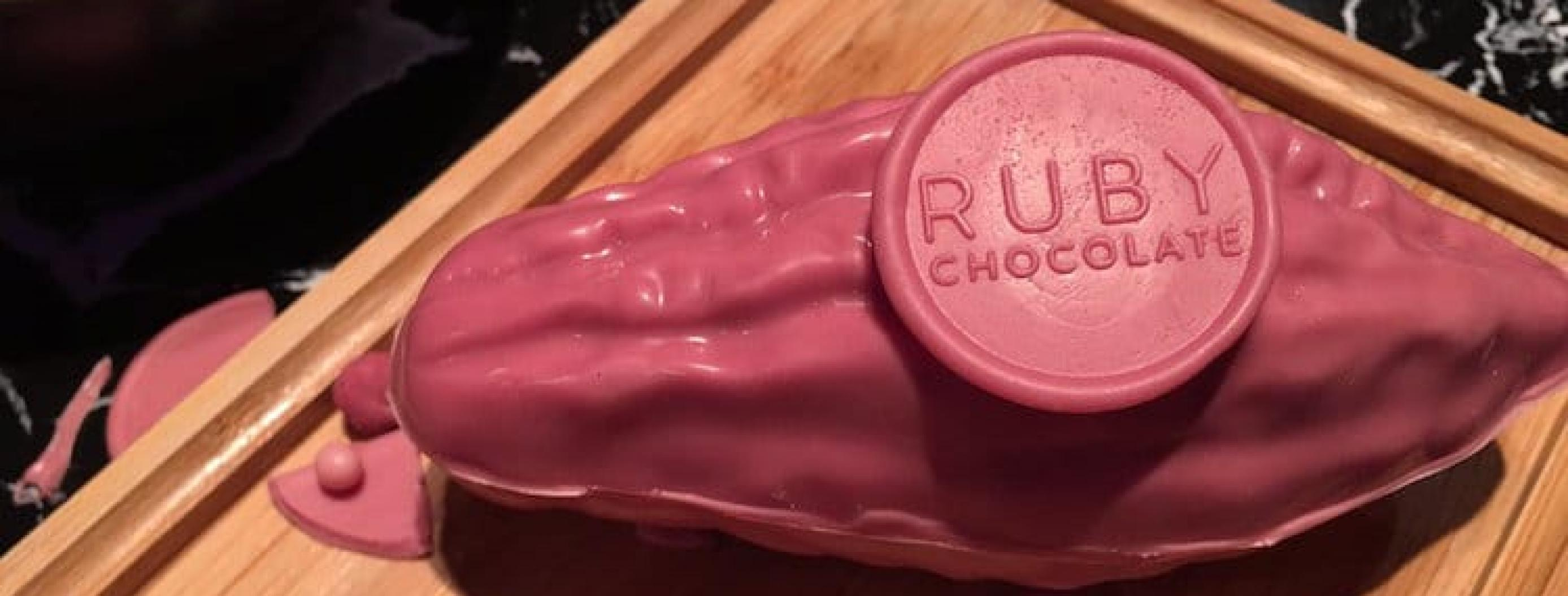 The First Natural Chocolate Variety In 80 Years Is...Pink
