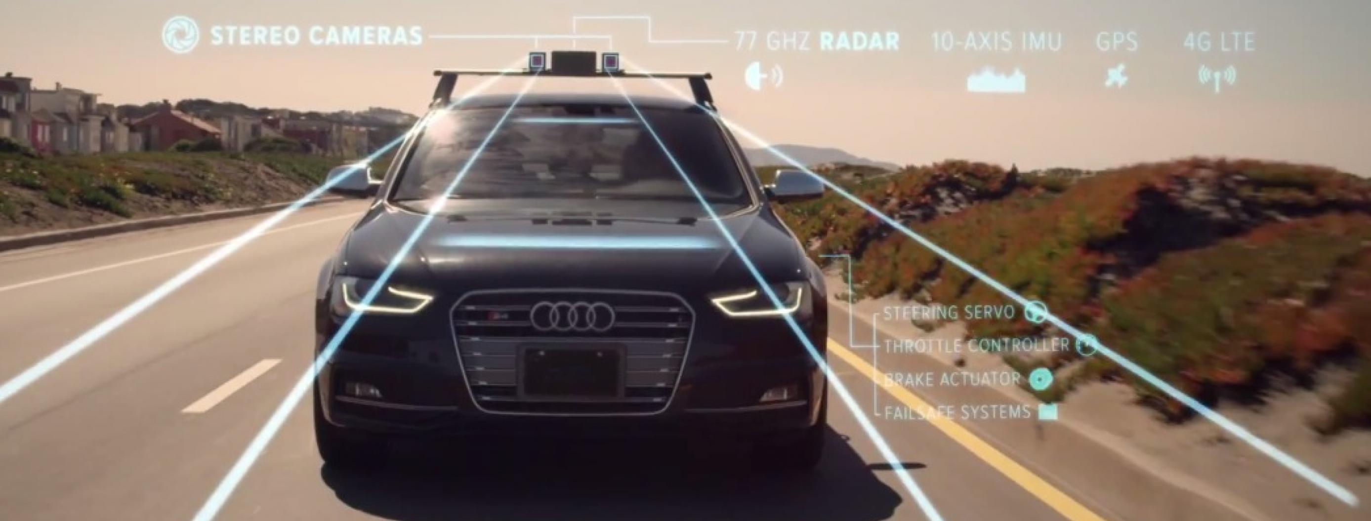 Watch a Self-driving Car Take a Night Ride