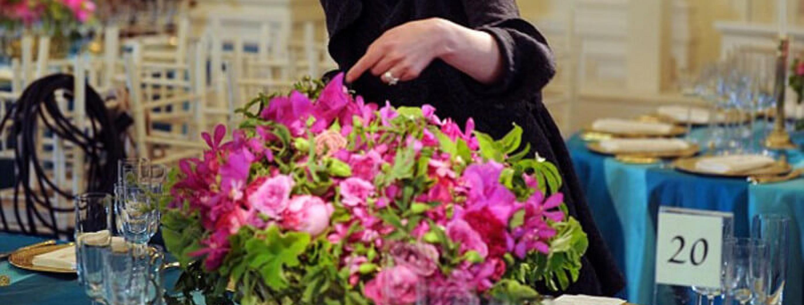 An Inside Look at the Daily Life of a White House Florist