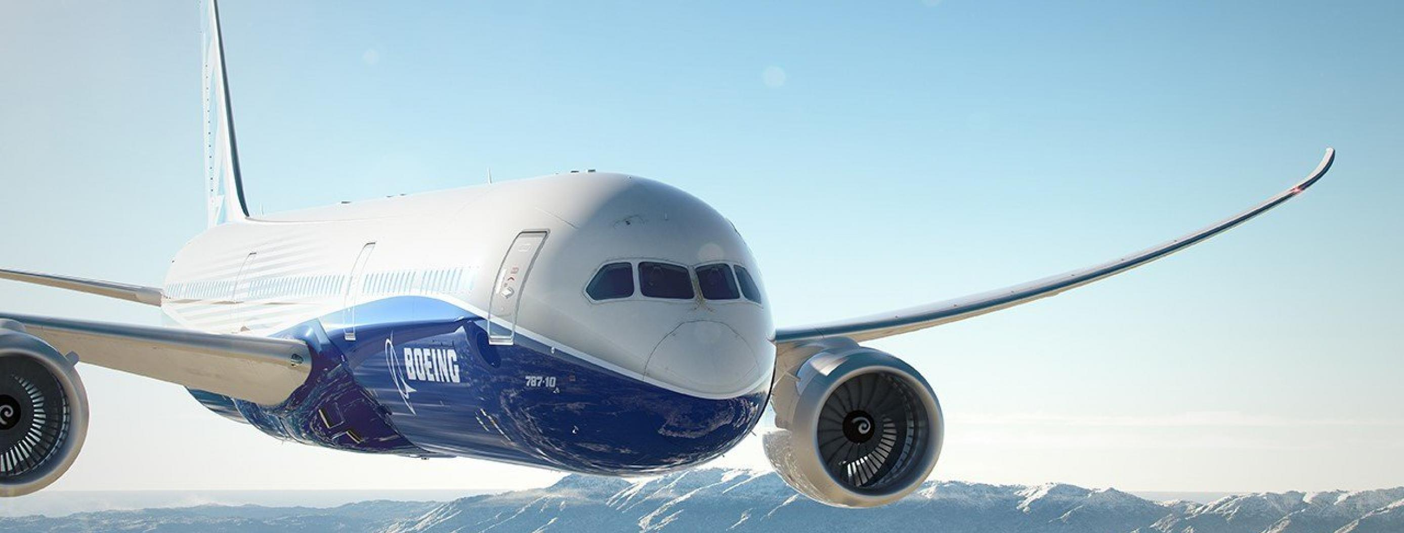 This Boeing 787 Dreamliner Drew a Giant Airplane Above the US