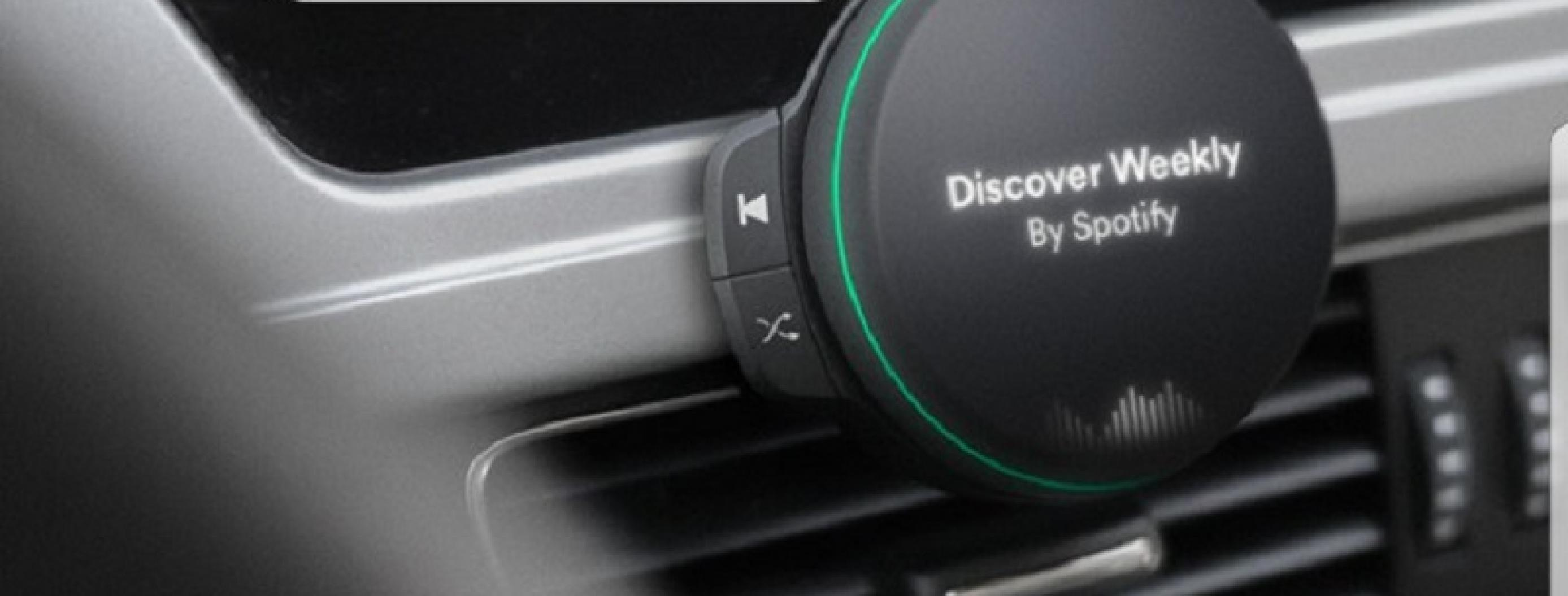 Spotify Could Release a Music Player for Your Car