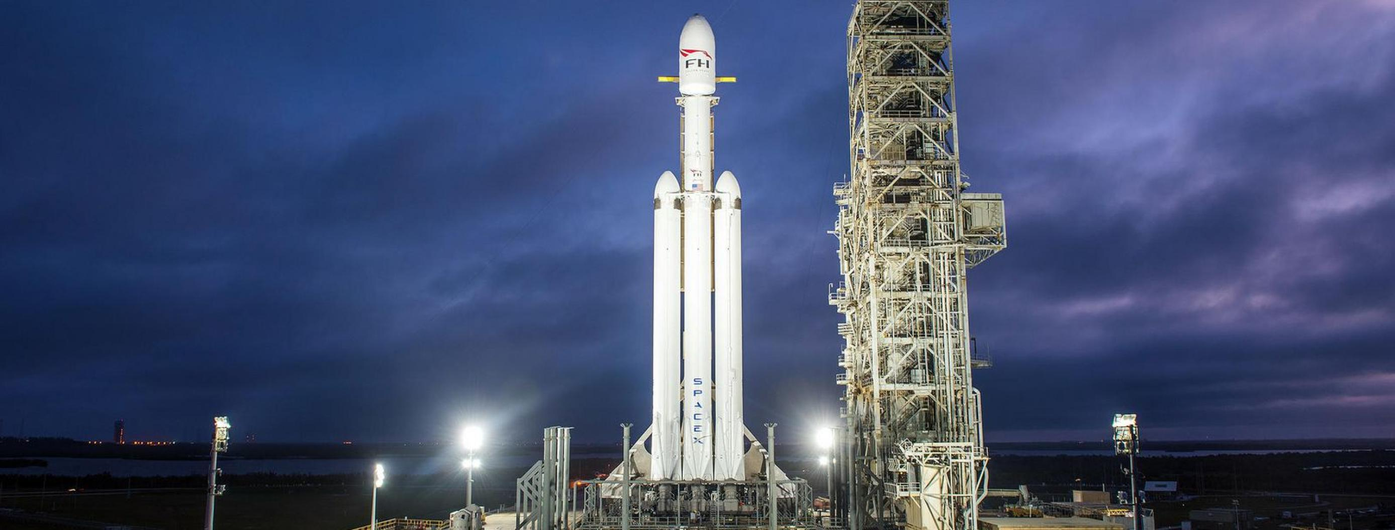 SpaceX Announces Falcon Heavy Launch Date