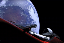 The $100,000 Tesla Sent to Space a Year Ago Has Traveled Farther Than Any Car in History