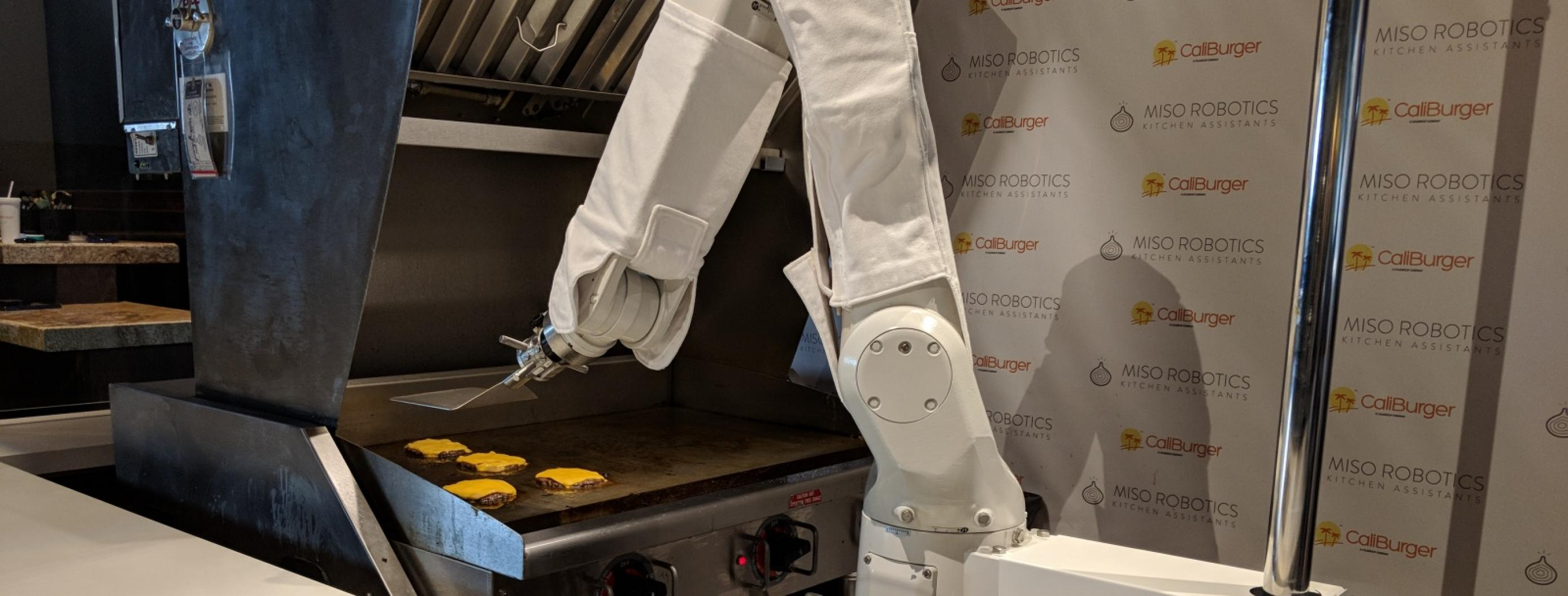 This Burger-Flipping Robot Is Threatening Fast-Food Workers