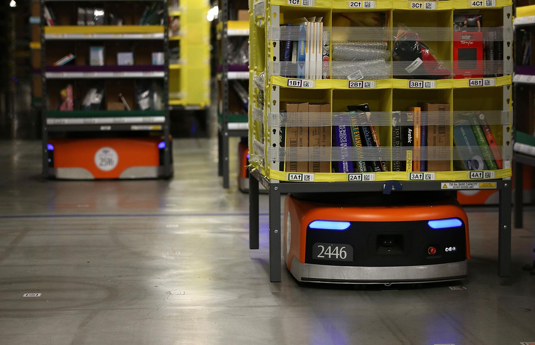 Will Amazon Use Robots In Whole Foods Warehouses?